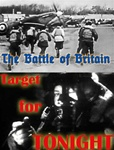 Still photos from the RAF films The Battle of Britain and Target for Tonight, shot during World War 2.